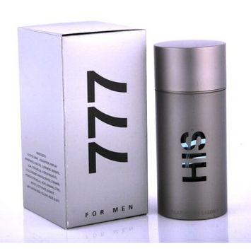 His 777 FOR MEN by Parfums De Laroma - 3.3 oz EDT Spray