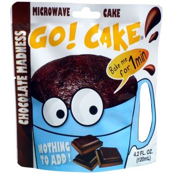 Easy Gourmand Llc Go! Cake Chocolate Madness - Case of 12 pouches