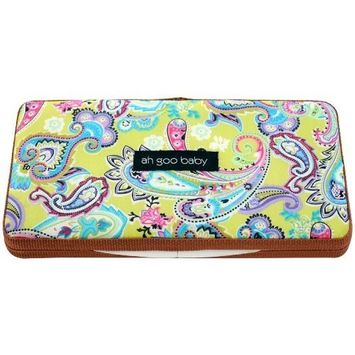 Ah Goo Baby Wipes Case, On-the-Go Travel Size, Bloom Pattern