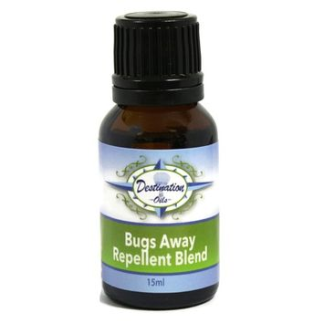 Bugs Away- Insect Repellent Essential Oil Blend - 15ml- 100% Pure, Therapeutic Grade