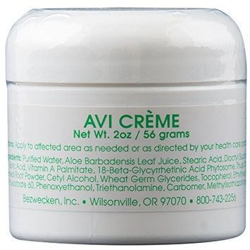 Bezwecken - AVI Crème - 2oz Crème   Professionally Formulated Vaginal Yeast Infection Support   Safe, Natural, Paraben Free   30 Day Supply