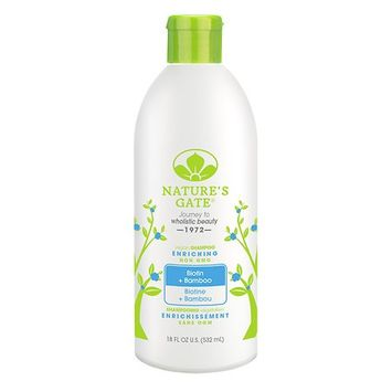 Natures Nature's Gate Biotin Enriching Shampoo 18.0 fl oz(pack of 2)