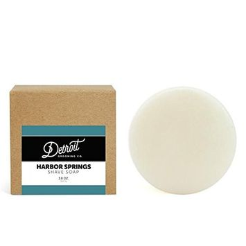 Harbor Springs - Himalaya w/Shea Butter & Soy Soothing Shave Soap - Detroit Grooming Co.