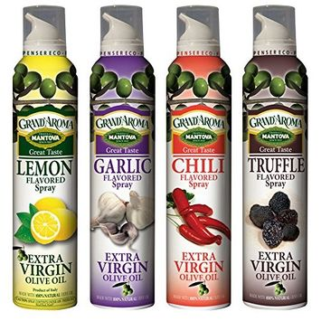 Mantova Spray Variety Pack, 8 Ounce (Pack of 4)