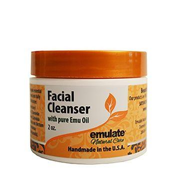Emu Oil Facial Cleanser emulate Natural Care 2 oz Cream