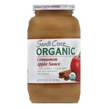 Santa Cruz Cinnamon Apple Sauce, 23 Oz (Pack of 6)