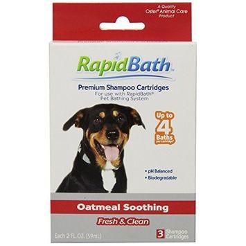 HydroSurge RapidBath Animal Shampoo Cartridges, 3/pack