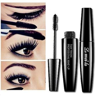 Alonea Volume Mascara Black Waterproof Curling and Thick Eye Eyelashes Makeup