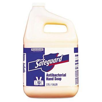 Safeguard Antibacterial Hand Soap, Liquid, 1 Gallon - two 1-gallon pour bottles per case.
