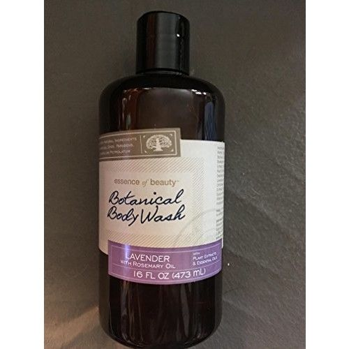 Essence of beauty BOTANICAL BODY WASH LAVENDER with ROSEMARY OIL relax your mind and body 16 FL OZ