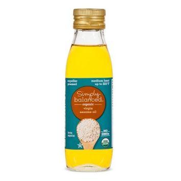Organic Virgin Sesame Oil - 8.45oz - Simply Balanced™