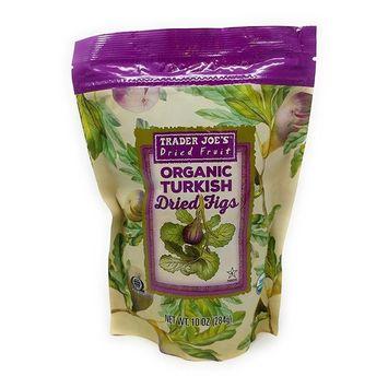 Trader Joe's Organic Turkish Dried Figs 10 OZ (284g)