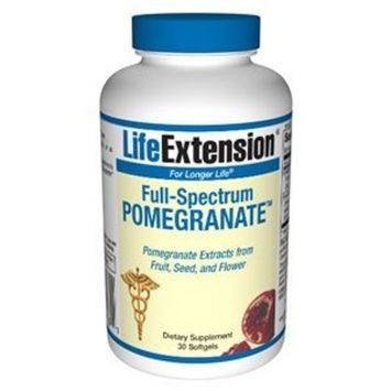 Life Extension Pomegranate Complete 30 Softgels (2 Pack)