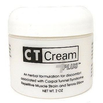Ct Cream Plus Carpal Tunnel Cream for Pain Relief - Carpal Tunnel Syndrome , Arthritis, Tendonitis, Buristis 2 Oz