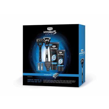 Schick Hydro Sense Razors for Men Gift Set with 1 Hydro Sense Hydrate Razor, 1 Hydro Sense Hydrate Disposable Razor, 3 Hydro Sense Hydrate Refills, 1-6oz & 2oz Hydro Sense Hydrate Shave Cream [Hydro Sense Gift Set & Hydro Shave Cream]