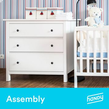 Baby Dresser Assembly by Handy