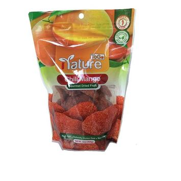 Gourmet Dried Chili Mango, Net Wt 16oz, Spicy, Real Fruit, Naturally Gluten Free
