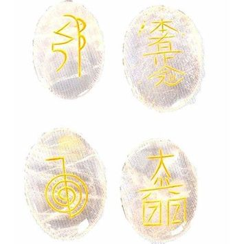Jet Crystal Quartz Usui Reiki Healing Set Chakra Balancing Meditation Gemstone Spiritual Energized Positive Mental Jet international crystal therapy Free Booklet IMAGE IS JUST A REFERENCE.