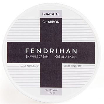 Fendrihan Shaving Cream 6 oz. Made in England (Charcoal)