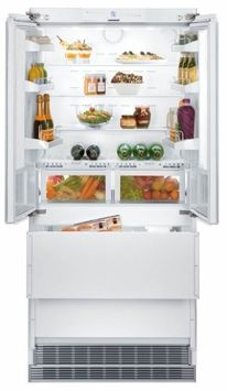 Liebherr HCB2062 36 Fully Integrated French Door Refrigerator