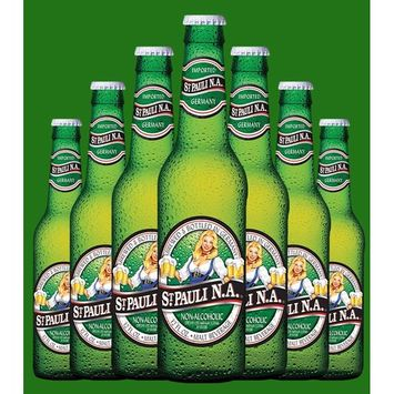 St. Pauli Girl Non-Alcoholic Beer, 12-oz Glass Bottles (12 Pack)