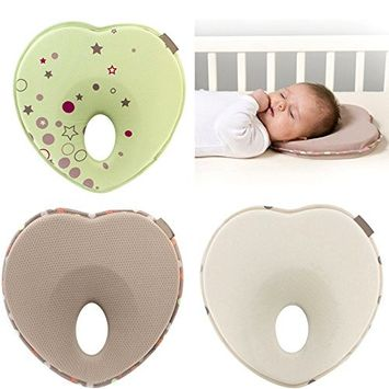 ABCmall Newborn Baby Anti Roll Head Shaping Pillow, Preventing Flat Head Neck Suppor