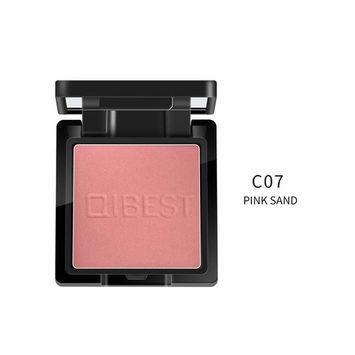 High-light Blush,FTXJ Pressed Cheek Blusher Powder Makeup Tool Highlighter Women Face Blush Cosmetic