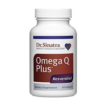 Dr. Sinatra's Omega Q Plus Resveratrol Active Formula is a NSF Certified for Sport CoQ10 and Omega-3 Supplement to Provide Heart Health Support, Energy and Antioxidant Support for All Athletes