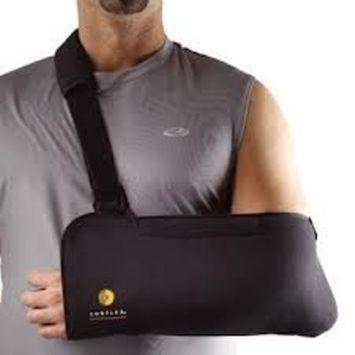 Corflex Tricot Arm Sling - Comfortable Arm Sling-S - Black