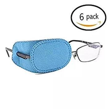 VIEEL Silk Eye Patch Elastic Soft and Comfortable Eye Patches Lazy Eye Patches forLazy Eye and Amblyopia Strabismus
