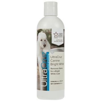 UltraCruz Dog Bright White Shampoo, 16 oz