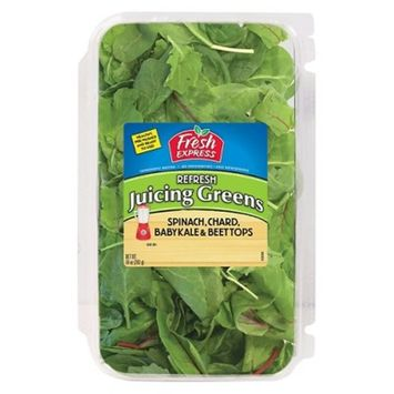 Fresh Express Refresh Juicing Greens - Spinach, Chard, Baby Kale & Beet Tops - 10oz Package