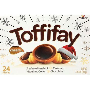 Toffifay Whole Hazelnut Caramel Chocolate, 7.05 Ounce