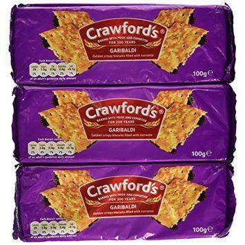 Crawford's Garibaldi Biscuits 100g (Pack of 6)