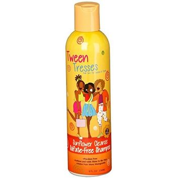 Tween Tresses Sunflower Cleanse Sulfate Free Shampoo
