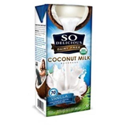 (12 Pack) So Delicious Coconut Milk Vanilla, 32 fl oz - $0.07/oz