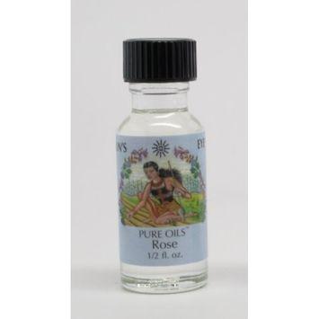 Rose - Sun's Eye Pure Oils - 1/2 Ounce Bottle