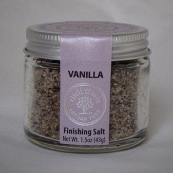 didi davis food Vanilla Bean Flavor, Gourmet Infused Sea Salt - 1.5 oz Net Wt.