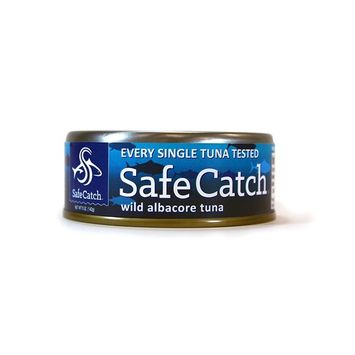 Safe Catch Wild Albacore Tuna - No Salt Added, 6 Piece [No Salt Added]