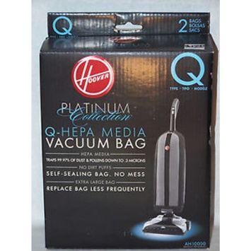 Hoover AH10000 Platinum Type-Q HEPA Vacuum Bag, (4 pack)