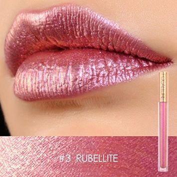 DZT1968 FOCALLURE New moisturizing non-marking Lipstick Cosmetics Women Sexy Lips Metallic Gloss