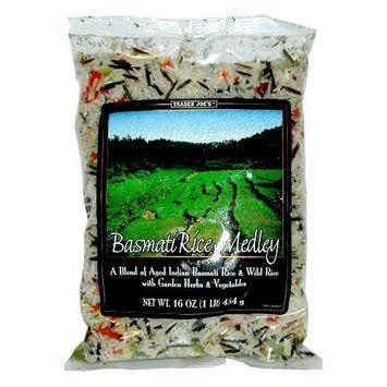 Trader Joe's Basmati & Wild Rice Medley with Garden Herbs & Vegetables By Organic Market Cart