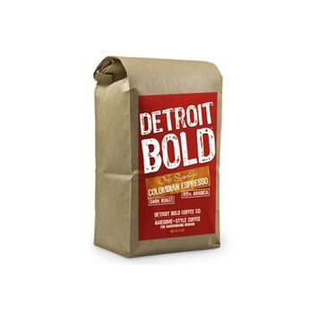 Detroit Bold Coffee Colombian Caf © Signature 8 oz. bag