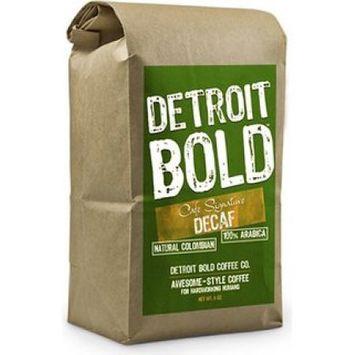 Detroit Bold Coffee Decaf Colombian Caf © Signature 8 oz. bag