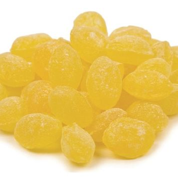 Sanded Lemon Drops Old Fashioned Hard Candy 10 pounds Claey's Candies