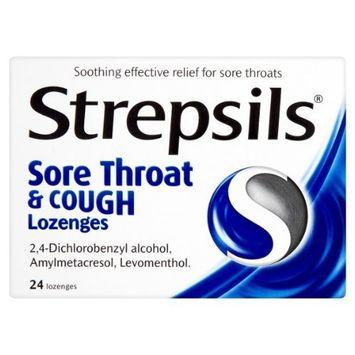 Strepsils Sore Throat & Cough