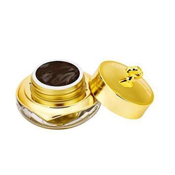 Hunputa PCD Tattoo Ink, 15ml Gold Round Bottles Pigment Professional Permanent Makeup Ink Supply For Eyebrow Lips Make up 11 colors for your choose (B)