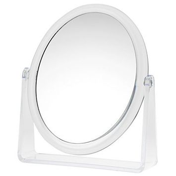 Danielle Creations Oval Vanity Mirror, 5X Magnification [Oval]
