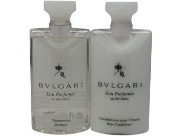 Bvlgari au the blanc Shampoo & Conditioner lot of 6 (3 of each)
