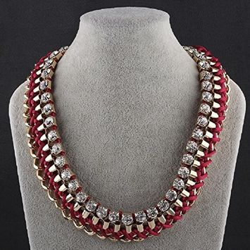 Bestpriceam N050-GChristmas Jewelry Fashion Necklaces For Women fashion big star Metal necklaces